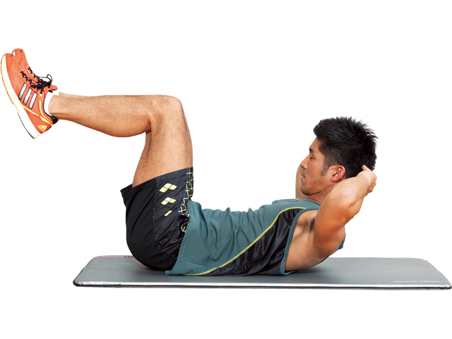 6つに割れた理想の腹筋を作る腹直筋トレーニング|@DIME アットダイム