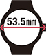 53.5mm