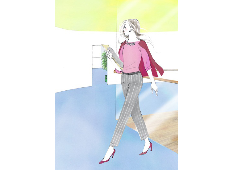 """【LIFE HACKS】働く女性の好感度アップのカギは""""姿勢""""にあり"""