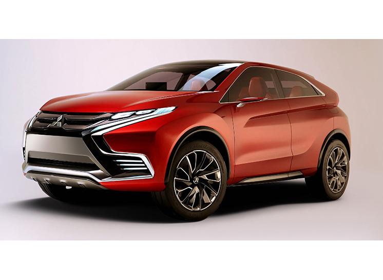 【新製品クローズアップ】三菱自動車が小型SUV『MITSUBISHI Concept XR-PHEV II』を世界初公開