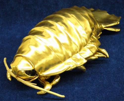 【TREND WATCHING】これぞ究極のキモカワ!ダイオウグソクムシの金銀ゴージャスぬいぐるみ