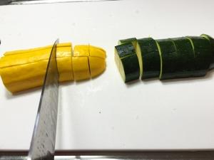 鶏むね肉と夏野菜の彩炒め002