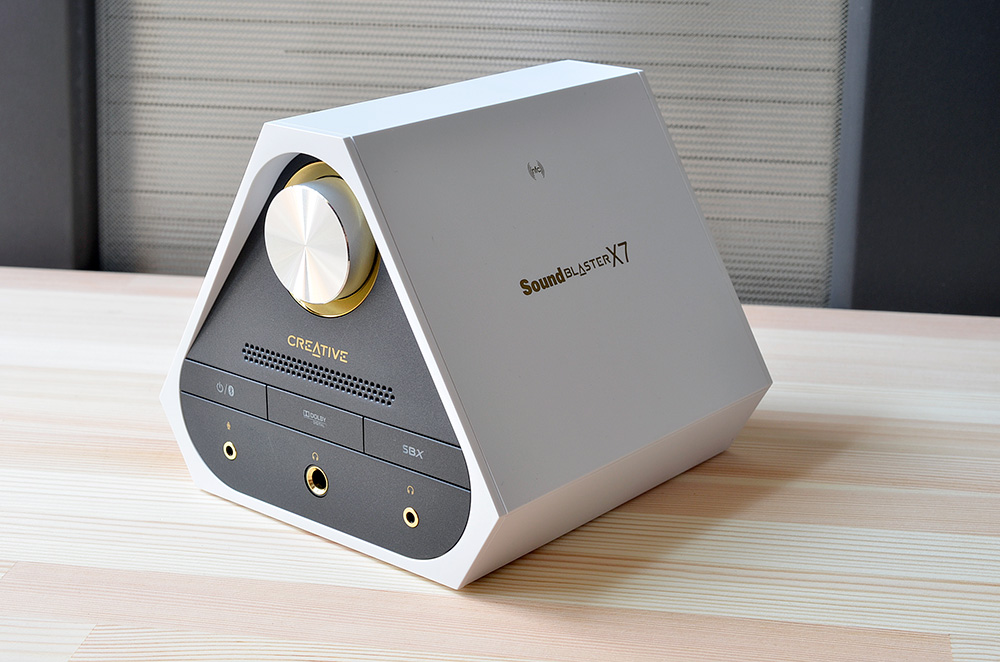 soundblaster x7 limited ファームウェア