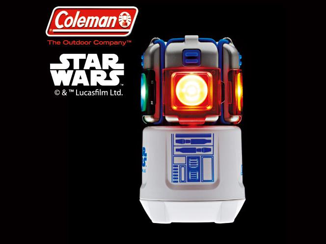 """コールマンのR2-D2モデルの""""超レア""""多機能ランタン"""