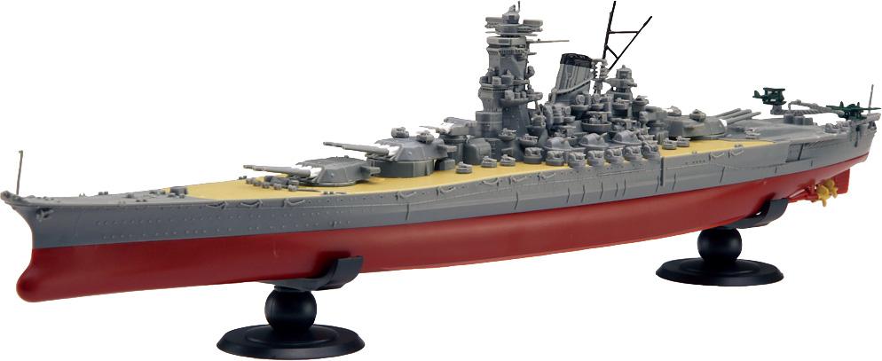 フジミ模型『1/700 艦NX1 日本海軍戦艦 大和』