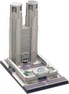 ウェーブ『1/2000 東京都庁舎』