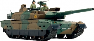タミヤ『1/35 陸上自衛隊 10式戦車』