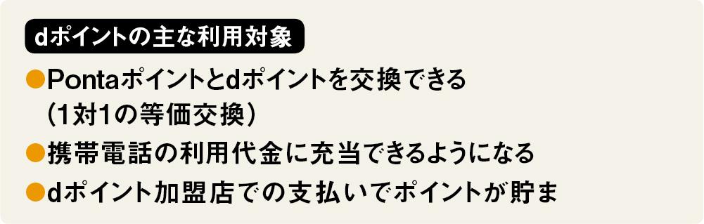 「dポイント」が第4の共通ポイント化