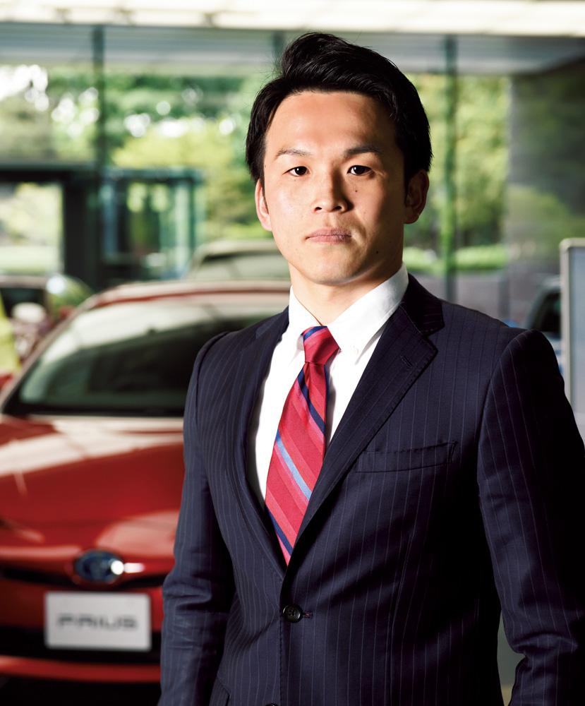 トヨタ自動車株式会社 広報部 メディアリレーション室 商品・技術広報グループ 有田啓介さん
