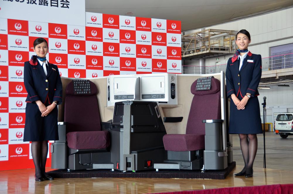 JALが中距離路線向け新ビジネスクラス「SKY SUITEⅢ」にフルフラットシートを導入