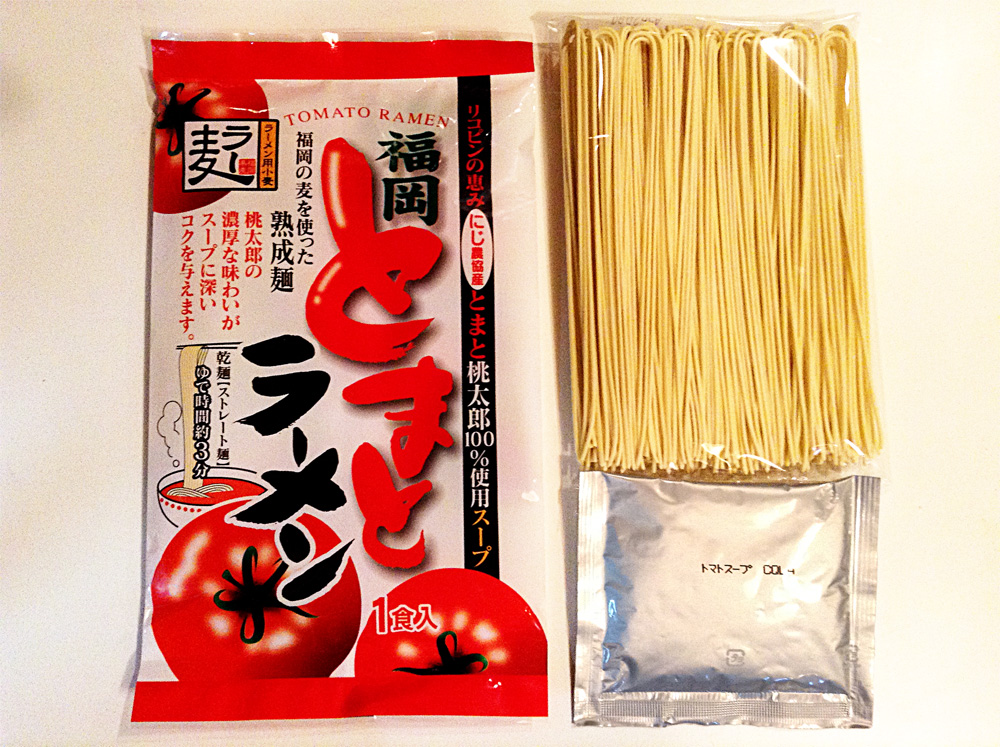 袋 福岡 麺 ラーメン トマト