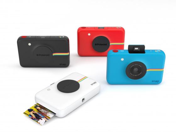 ポラロイドがポップなインスタントデジカメ、アクションカメラ、モバイルフォトプリンターを発売