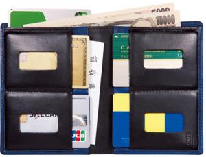 [DIME×THINly] カードをたくさん入れてもさらに薄い財布NEO