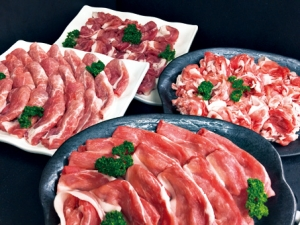 都城産豚・Mの国黒豚4kgセット