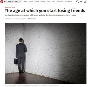 """""""一生の友""""は実在するのか!?25歳で迎える""""人気のピーク""""後の友人関係とは"""