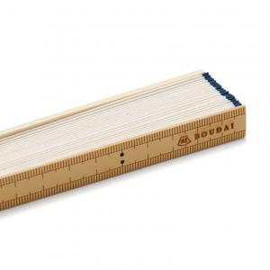 竹の定規扇子