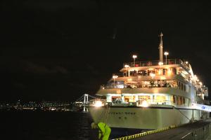 船のデッキに寝転んで流星群を満喫!「オールナイトクルーズ」って知ってる?