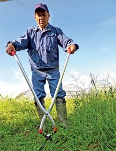 [幸輝] 立ち作業用草刈りハサミ