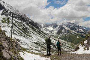 山の楽しみ方は登山だけにあらず!道ばたでアンモナイト発見!地質学ハイキング