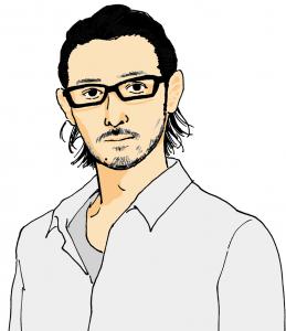 似顔絵10_オダギリジョー_ol