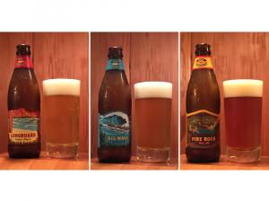 夏らしいハワイのビールではビジュアルも海気分