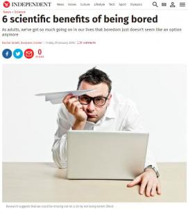"""ストレスにも人生を豊かにするものにもなる""""退屈""""をあらためて考える"""