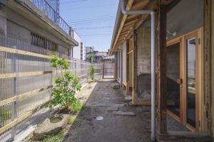 小さな庭があるだけで、気分が変わる。撮影/多田ユウコ