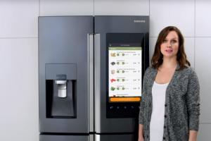 SAMSUNGのスマート冷蔵庫「Family Hub」