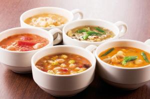 8種類のスープを用意