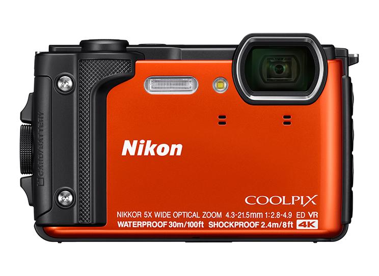 ニコンが4K UHD動画撮影に対応したアウトドアコンデジ『COOLPIX W300』を発売