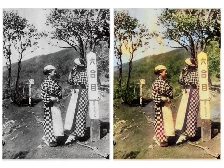 昔の白黒写真も自然なカラー写真に変身 これが最先端の自動着色技術だ
