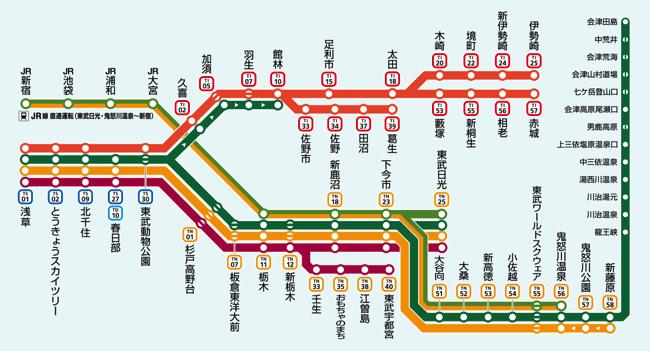 秩父鉄道(羽生−三峰口)の路線図・停車駅 - 駅探