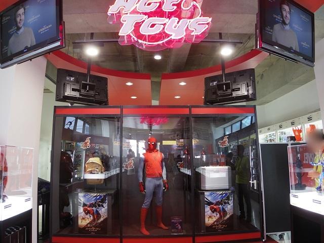 スパイダーマンの世界観を堪能できる「スパイダーマン:ホームカミング ポップアップストアin原宿」がオープン(2017.08.01)