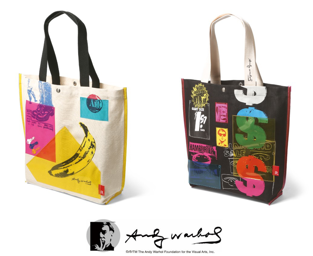 Andy Warhol×ROOTOTEコラボレーショントートバッグ