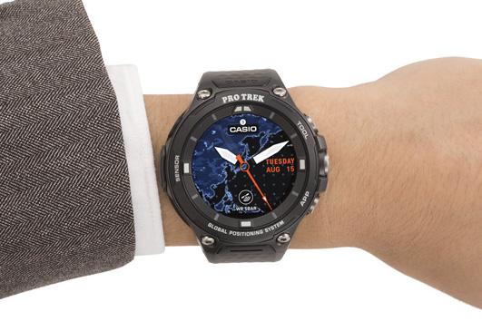 f391137bcf アウトドアでもビジネスでも使えるカシオのスマートウォッチ『PRO TREK WSD-F20』