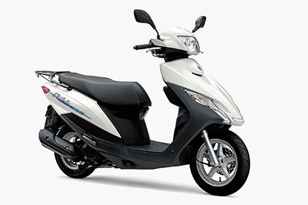 スズキが操作性に優れた新型スクーターとストリートスポーツバイクのエントリーモデルを発売