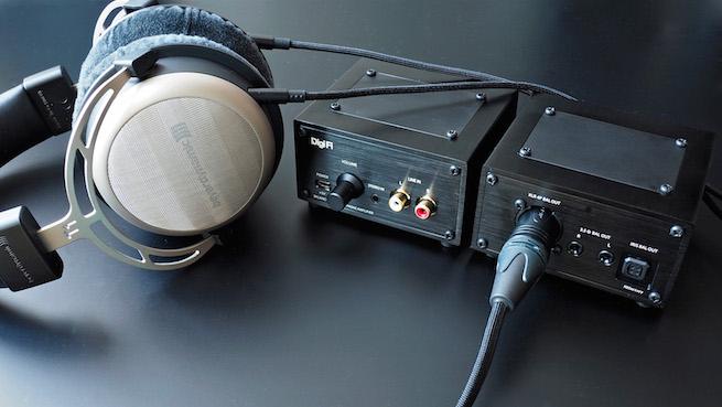 AKもゼンハイザーもOK!バランス駆動対応ヘッドフォンアンプのために生まれた接続端子拡張基板『DF22-EXP』