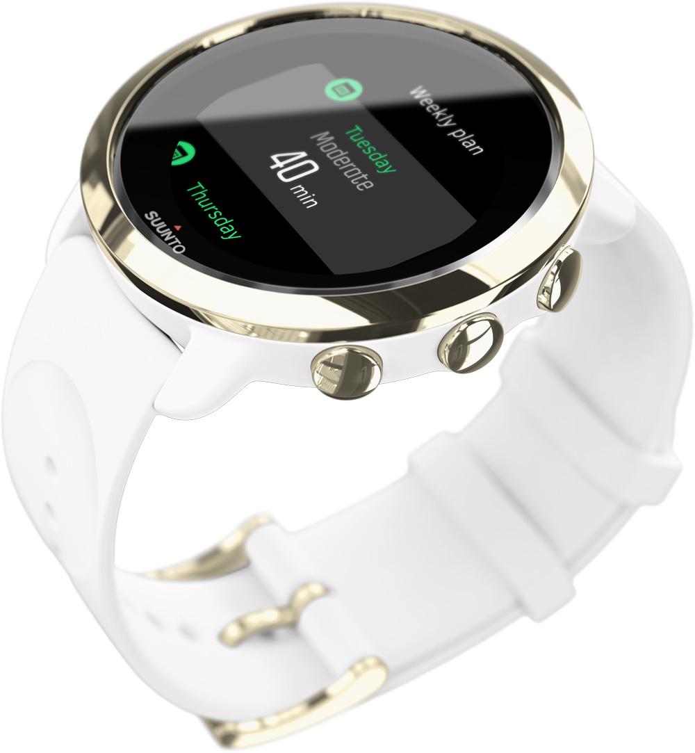 9665b05a8d 『Suunto 3  Fitness』は、美しくデザインされたパーソナルトレーニングパートナーで、時計としても毎日の生活にエレガントに溶け込む。また、フィットネスレベルに応じ  ...