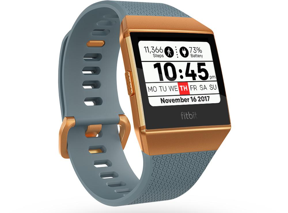 d6be66d003 フィットネスウェアラブルデバイスを展開するフィットビット・ジャパンは、新型スマートウオッチ『Fitbit Ionic(フィットビット  アイオニック)』を1月18日よりamazon ...