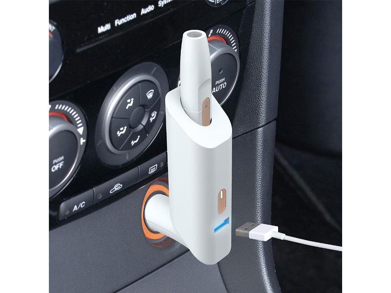 これは便利!セイワの車内用『IQOSホルダーDCチャージャー』