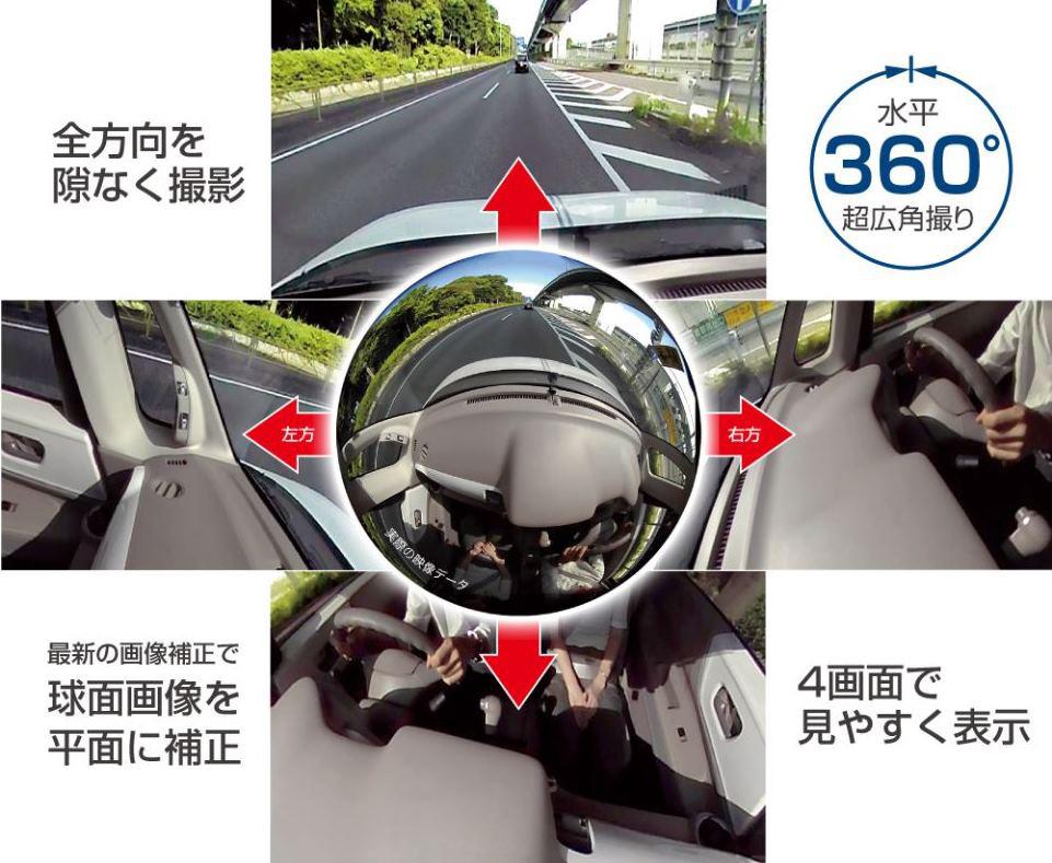 360EYEドライブレコーダーの裏ワザ的活用法(2018.04.20)