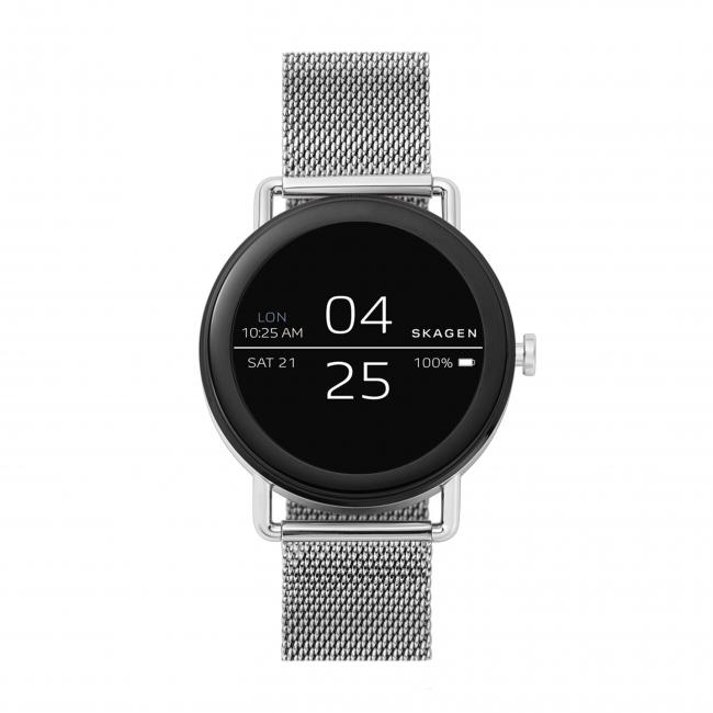 8e93493f34 ライフスタイルブランドSKAGENは、初のタッチスクリーンスマートウオッチ『Falster Smartwatch』を2月23日より発売する。それに先立ち、直営店、公式オンラインストア  ...