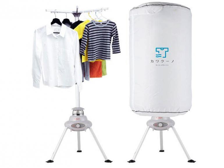 部屋干しのストレスを一気に解消!吊るして乾かす乾燥機『カワクーノ』 @DIME アットダイム
