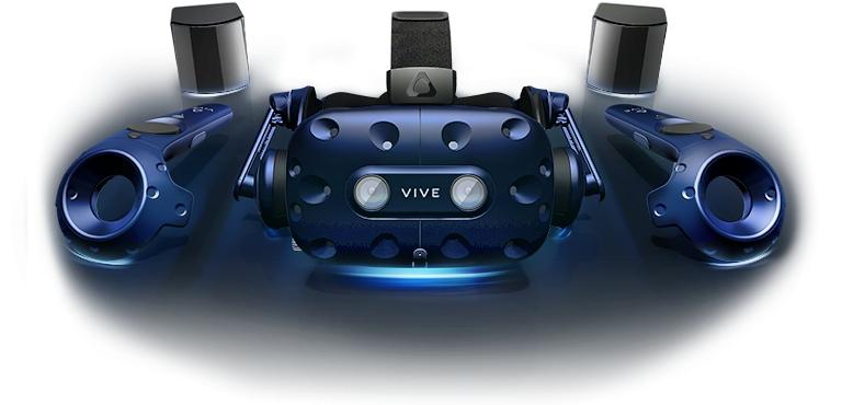 没入感も値段もスゴい!HTCの最先端HMD『VIVE Pro』フルセットが登場