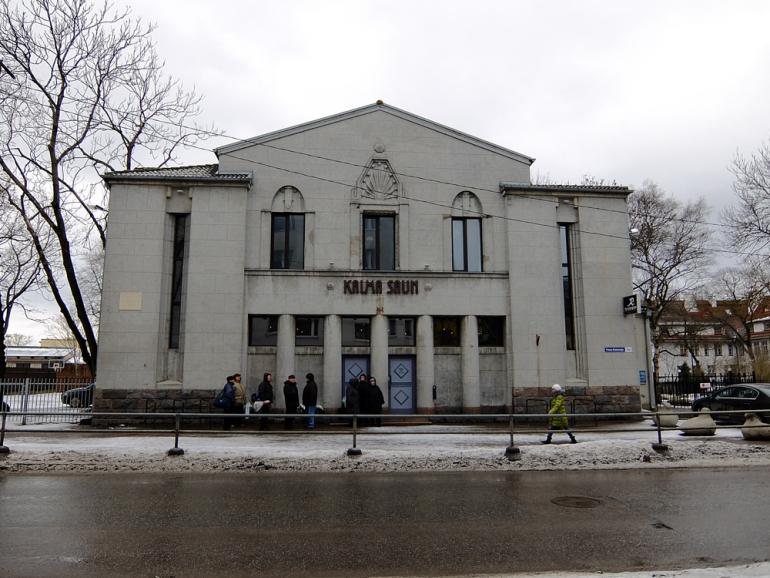 エストニア・タリンで見つけた行列のできる世界遺産レベルの劇場型サウナ