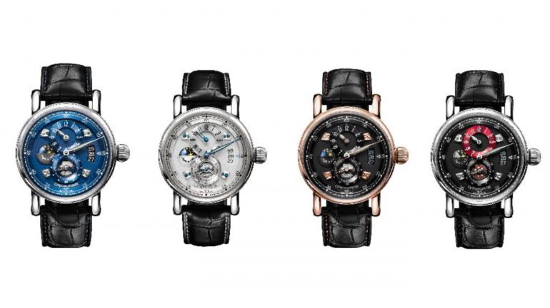 d55e2556d1 3次元ダイアルに夜と昼を表示!クロノスイスの新作腕時計『シリウス フライング・レギュレーター ナイト アンド デイ』4選