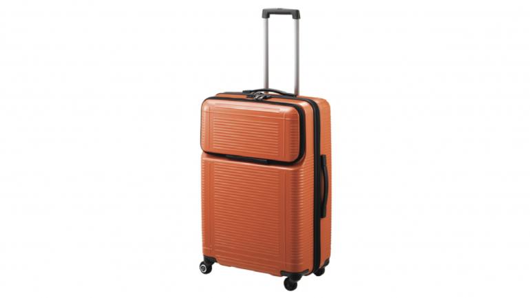 3fc5393883 前ポケット付きで荷物の出し入れがラクなプロテカのスーツケース「ポケットライナー」