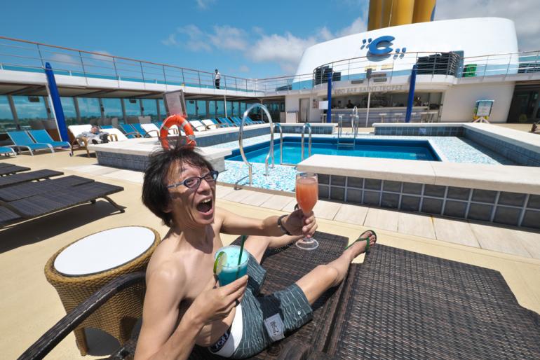 これが本当の極楽!クルーズ船「コスタ ネオロマンチカ」の極上サウナ