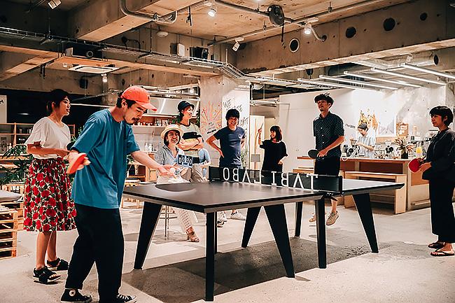 オフィスに卓球台を置く企業がじわじわ増えている理由