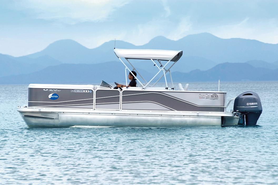 猪苗代湖 ボート